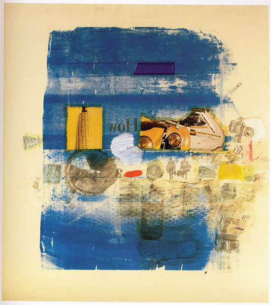 Standing in the Shadows of Love: The Aldrich Collection 1964–1974 Part 1 Robert Rauschenberg, (1925–2008)  Robert Rauschenberg, Umpire, 1965; Private collection