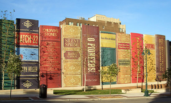 Kansas City Public Library, Missouri. photo by Mike Sinclair
