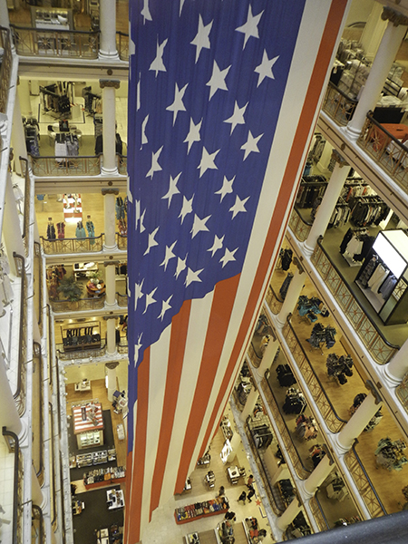 Lobby, Macy's Flagship, Photo by Tom Grotta