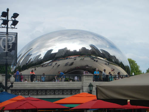 Cloud Park by Anish Kapoor. Millennium Park, Photo by Tom Grotta
