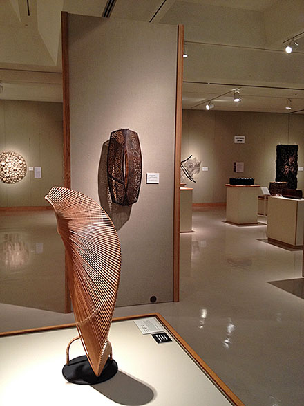 Midland Museum Forming: The Synergy Between Basketry and Sculpture, photo by Jennifer Falck Linssen