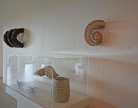 Morris Museum, Pulp Culture, Wendy Wahl, Kazue Honma, Merja Winqvist. Photo by Tom Grotta