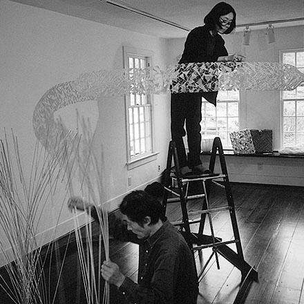 Masakazu and Naomi Kobayashi 1999 browngrotta arts installation. Photo © Tom Grotta