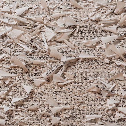 Naomi Kobayashi 2000paper and thread detail, photo by tom Grotta