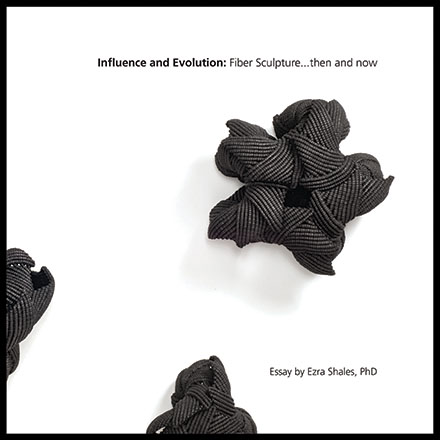 Influence and Evolution: Fiber Sculpture...then and now catalog cover artwork by Federica Luzzi