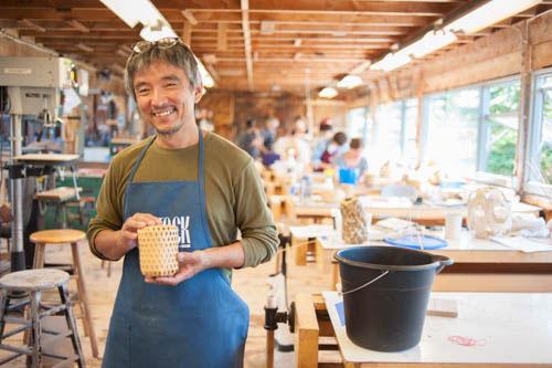 Jiro Yonezawa at Haysatck. Photo by Tom Grotta