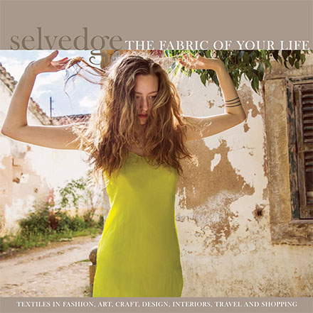 July issue of selvedge cover