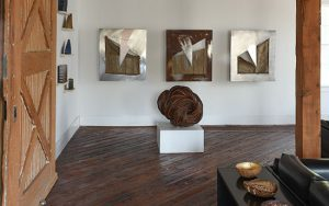 pictured works by: Christine Joy, Debra Sachs and Lilla Kulka; Photo by Tom Grotta; browngrotta arts