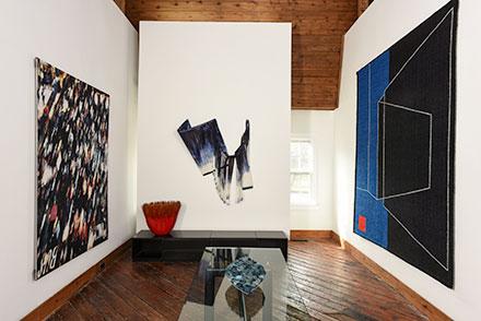 pictured works by: Birgit Birkkjaer; Grethe Sorensen; Grethe Wittrock; Gudrun Pagter; Mary Merkel-Hess; Tom grotta; browngrotta arts