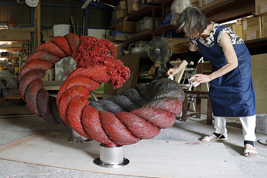 Mary Yagi Outdoor Sculptor Art from Japan