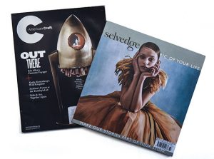 American Craft and Selvedge Magazine Covers