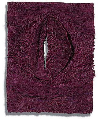 "Studium Faktur, Magdalena Abakanowicz, sisal, 54"" x 43"" x 9"", 1964"