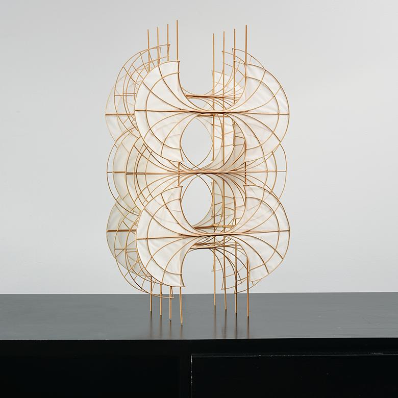Pat Campbell Rice Paper Sculpture