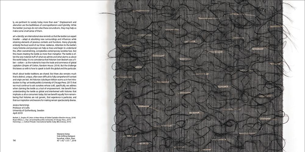 Marianne Kemp horsehair weaving
