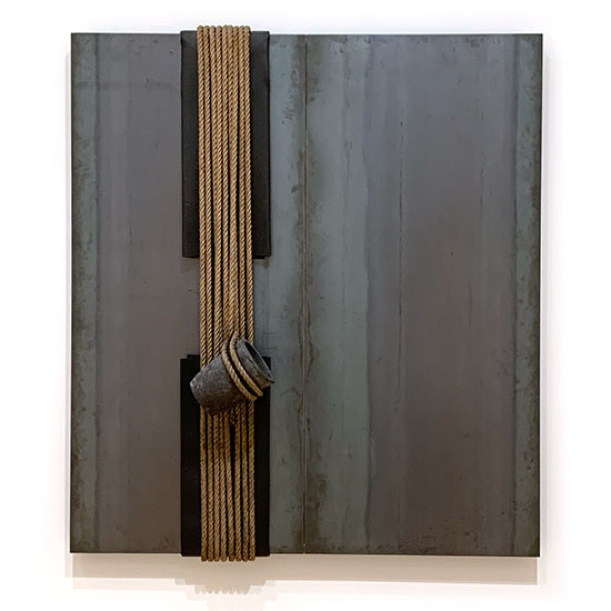 Jannis Kounellis Untitled piece of steel