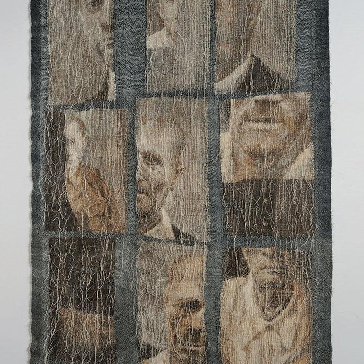 Aleksandra Stoyanov, JUDGES wool, sisal
