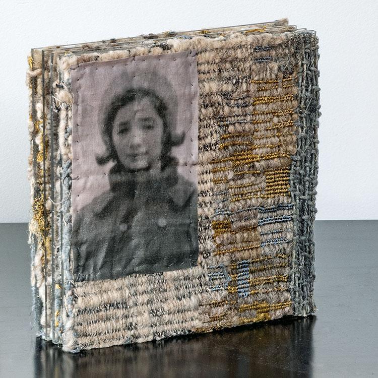 Aleksandra Stoyanov small woven sculpture