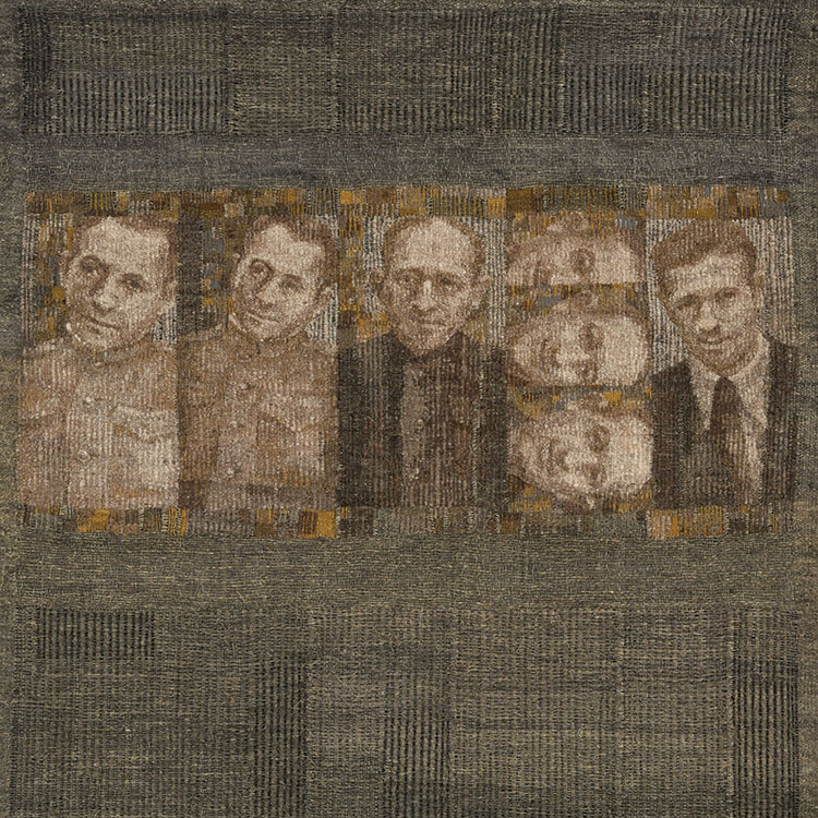 Aleksandra Stoyanov tapestry, From the First Person I