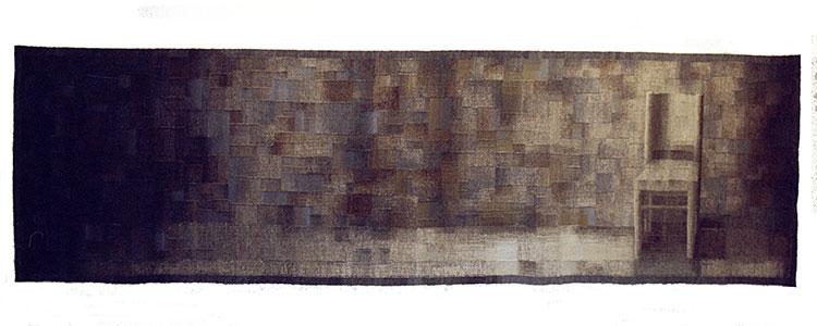 Aleksandra Stoyanov, Personal space wool, linen, silk