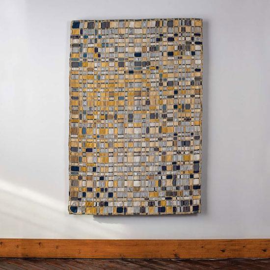 Eduardo Portillo & Mariá Eugenia Dávila triple weave mosaic tapestry