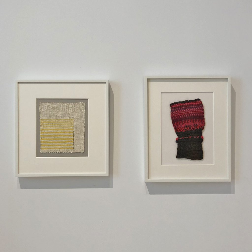 Sheila Hicks small weavings