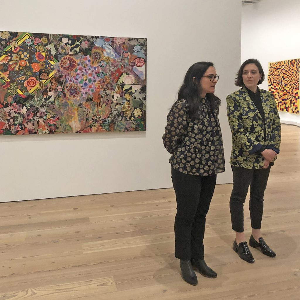 Jennie Goldstein and Elisabeth Sherman tour