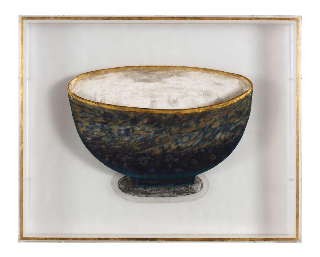 Soul of a Big Blue Bowl b y Jin-Sook So