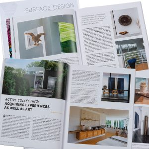 Active Collecting: Acquiring Experiences as Well as Art by Rhonda Brown in Surface Design Journal