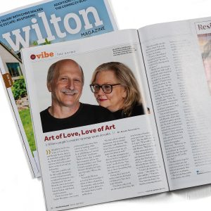 Art of Love, Love of Art n Wilton Magazine