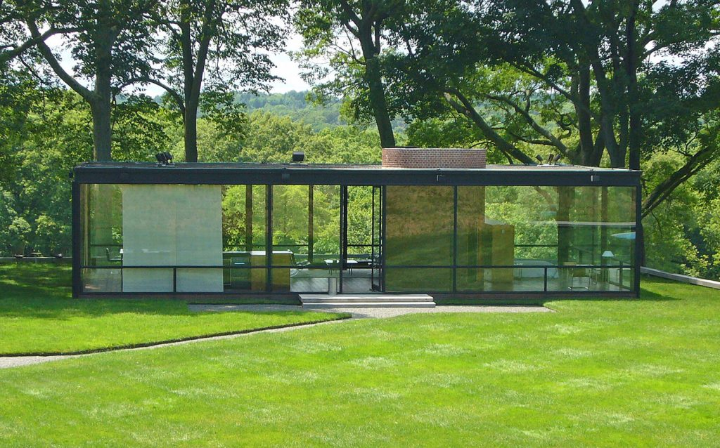 Philip Johnson Glass House, New Cannan CT
