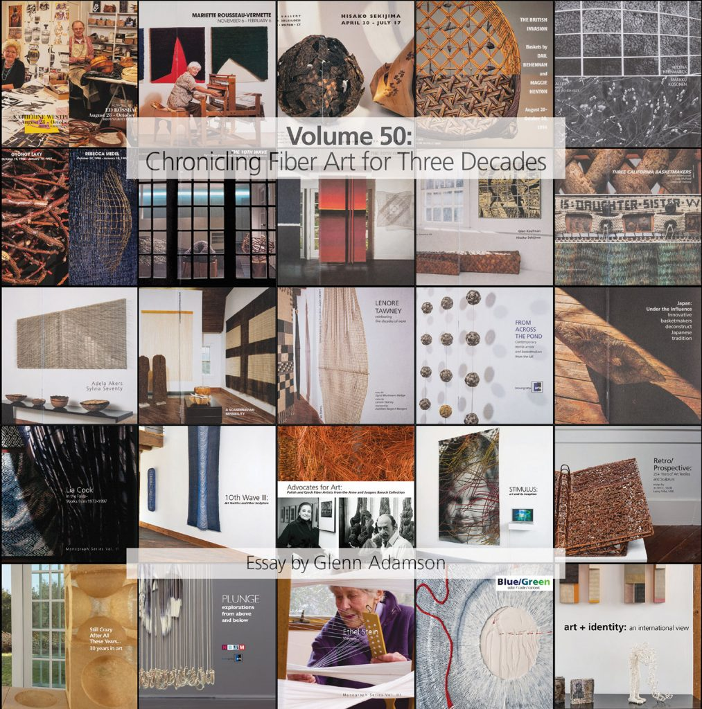 Volume 50: Chronicling Fiber Art for Three Decades Catalog
