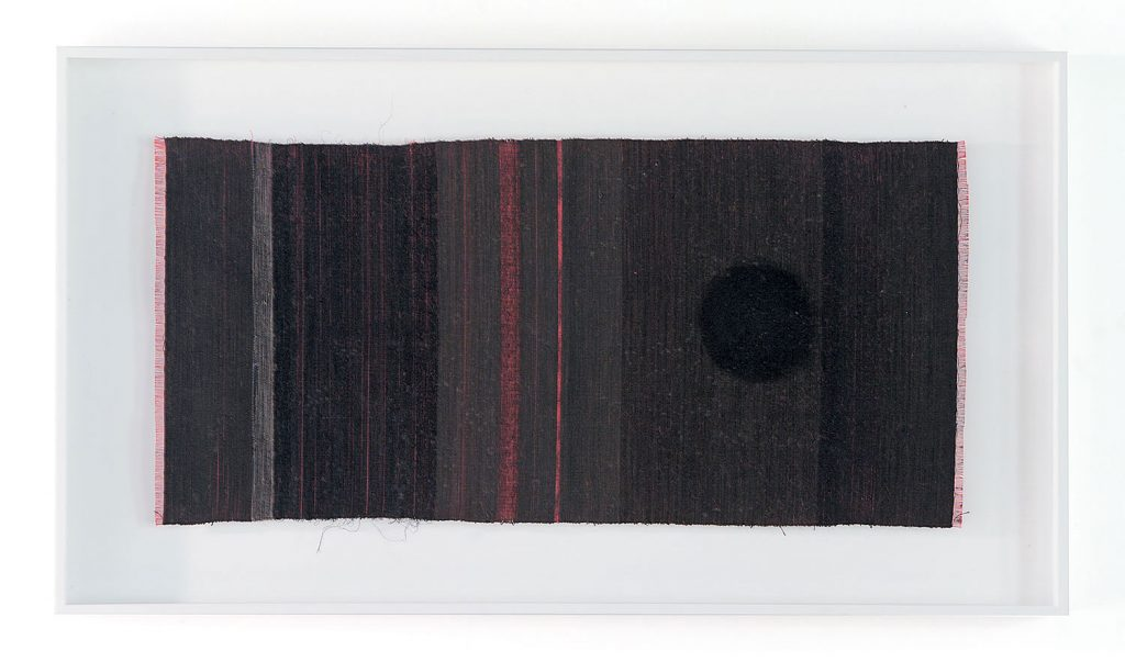 Permeated Black Stain #941  by Chiyoko Tanaka