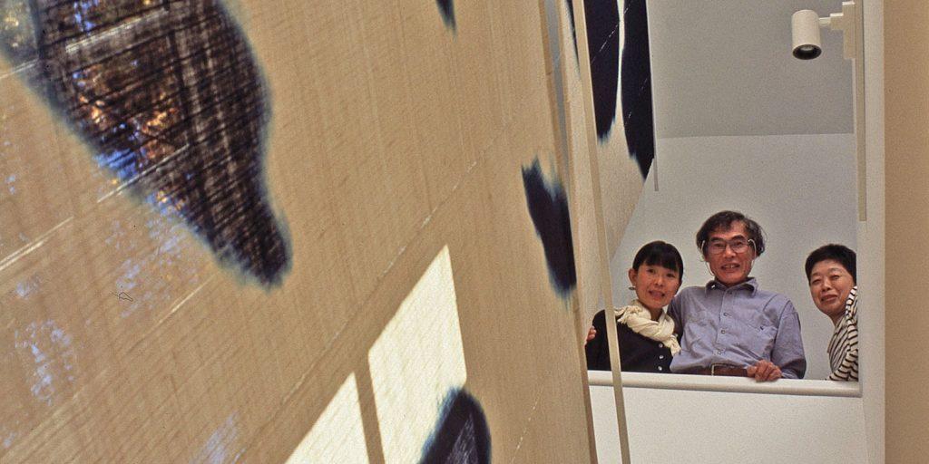 Portrait of Chiyoko Tanaka with Hiroyuki Shindo