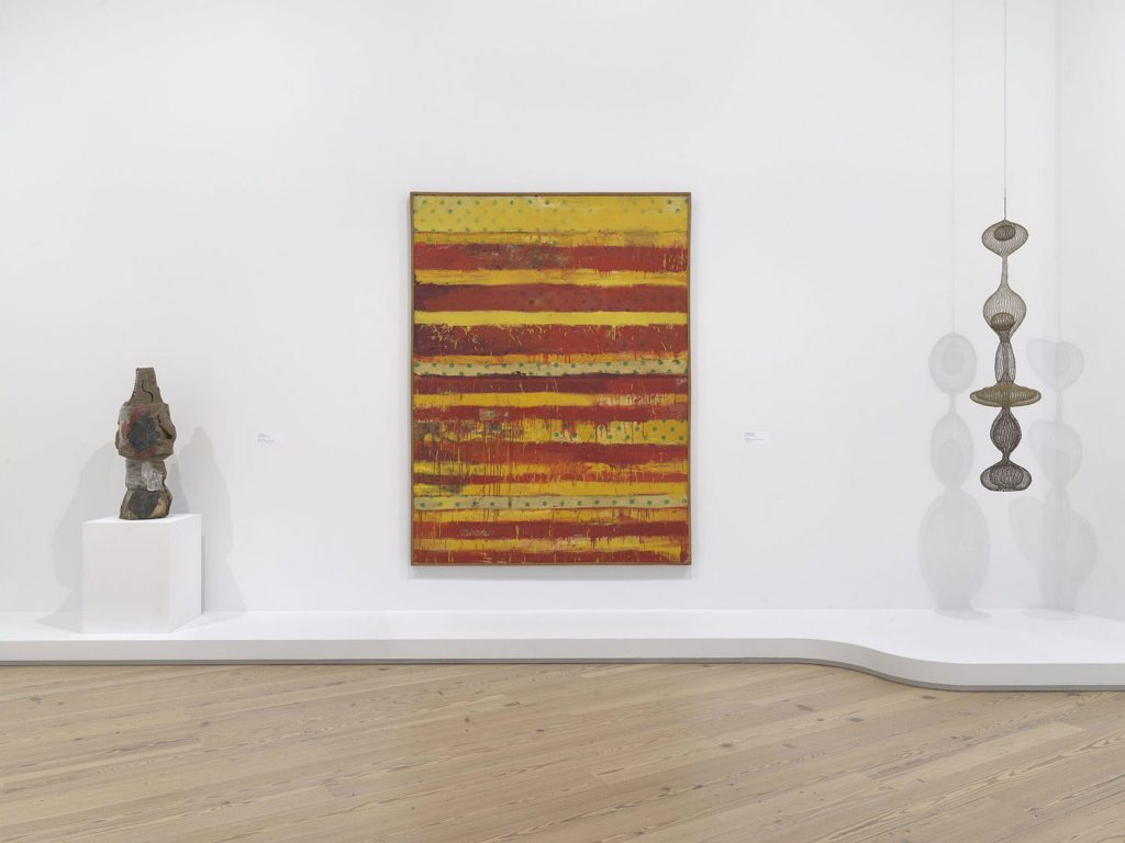Installation view of Making Knowing: Craft in Art