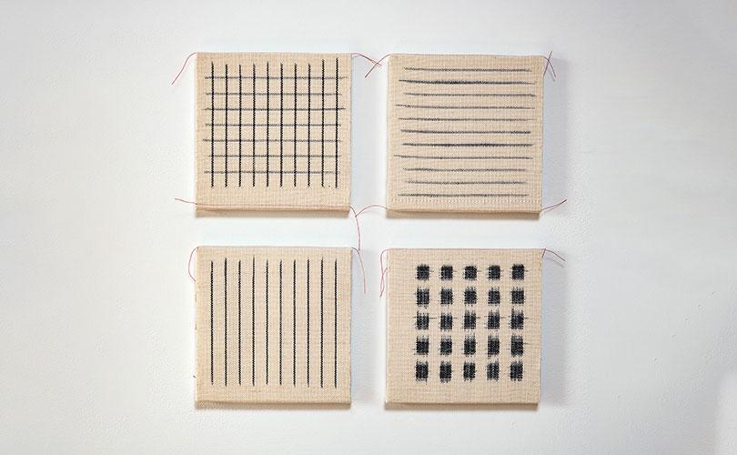 Kay Sekimachi weavings
